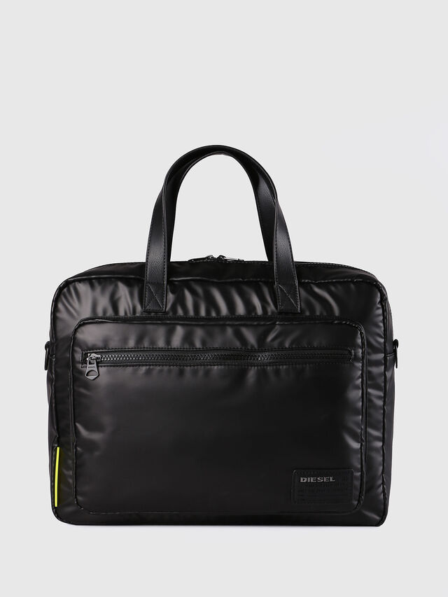 Diesel F-DISCOVER BRIEFCASE, Black - Briefcases - Image 1