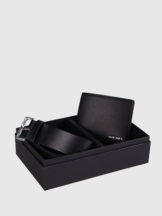 Diesel STERLING BOX I, Black Leather - Bijoux and Gadgets - Image 1