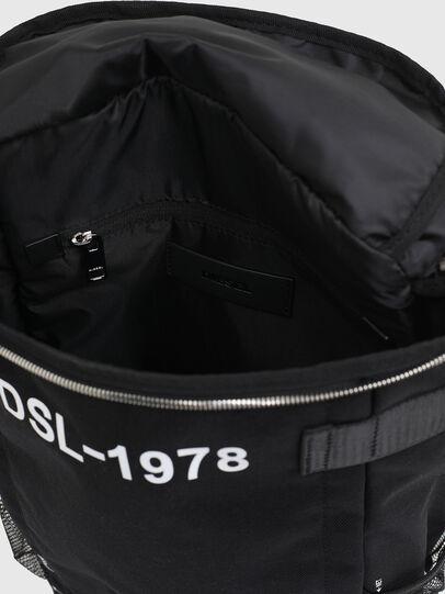 Diesel - PIEVE ZP, Black - Backpacks - Image 4