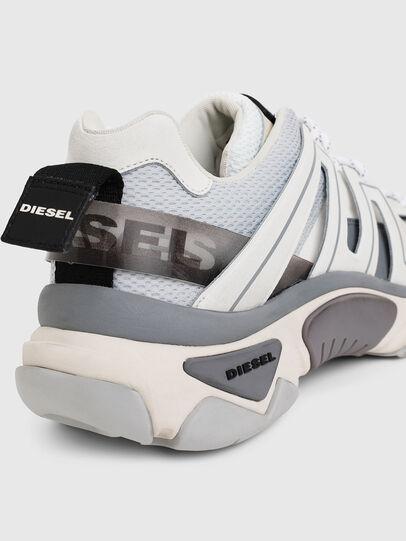 Diesel - S-KIPPER LOW TREK, White - Sneakers - Image 7