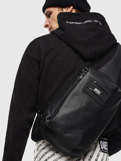 Diesel - D-SUBTORYAL MONO II, Black - Backpacks - Image 8