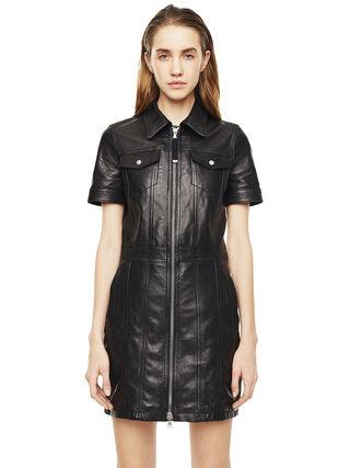 DAFFIE,  - Leather dresses
