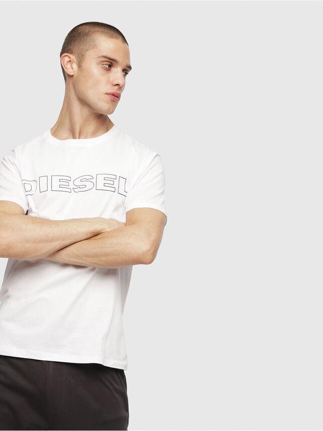 Diesel - UMLT-JAKE, White - T-Shirts - Image 1