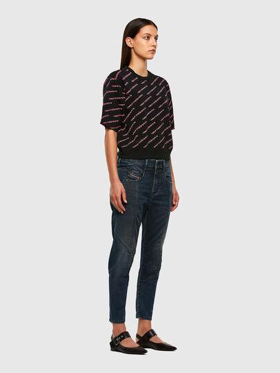 Diesel - Fayza JoggJeans 069PQ, Dark Blue - Jeans - Image 7