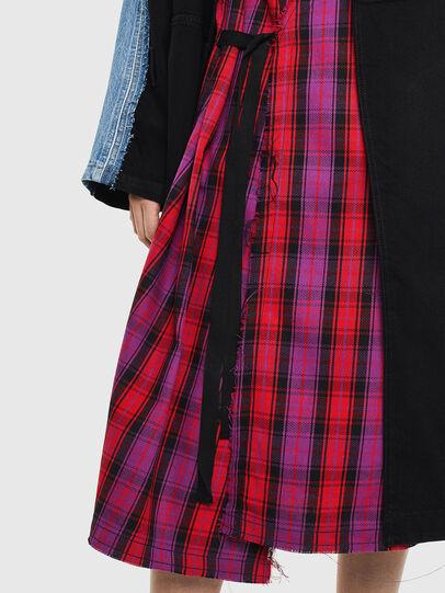 Diesel - DE-PRAVU, Black/Blue - Denim Jackets - Image 5