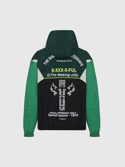 Diesel - J-ETHAN, Green/Black - Jackets - Image 2