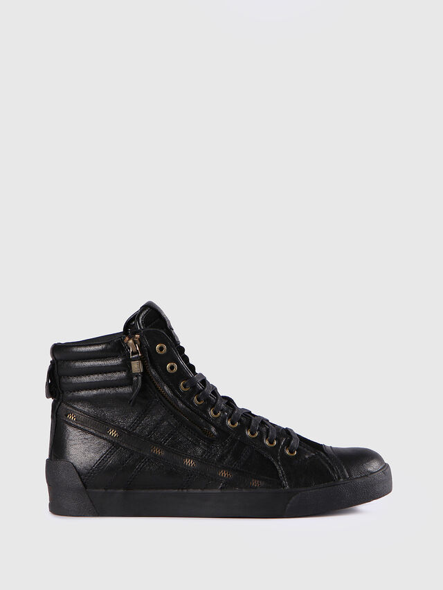 Diesel - D-STRING PLUS, Black - Sneakers - Image 1