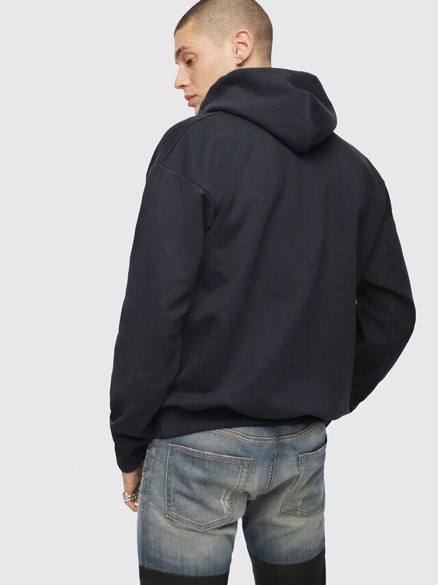 Diesel - S-DIVISION, Dark Blue - Sweaters - Image 2