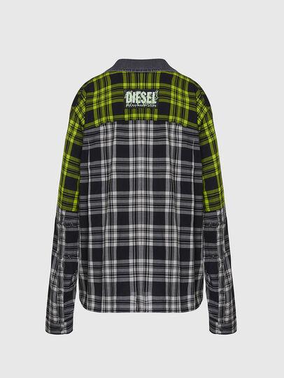 Diesel - C-NILLA, Black/White - Shirts - Image 2