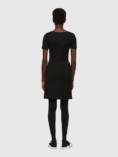 Diesel - D-KONF, Black - Dresses - Image 2