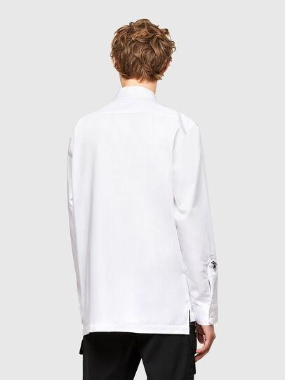Diesel - S-KULT, White - Shirts - Image 2