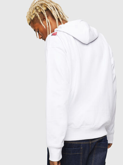 Diesel - CC-S-ALBY-COLA, White - Sweaters - Image 3