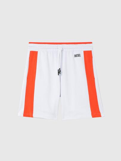 Diesel - UMLB-PAN-SP, White/Orange - Pants - Image 1
