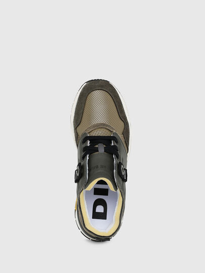 Diesel - S-BRENTHA LC, Military Green - Sneakers - Image 4
