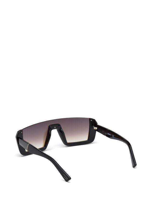 Diesel - DL0248, Bright Black - Eyewear - Image 2