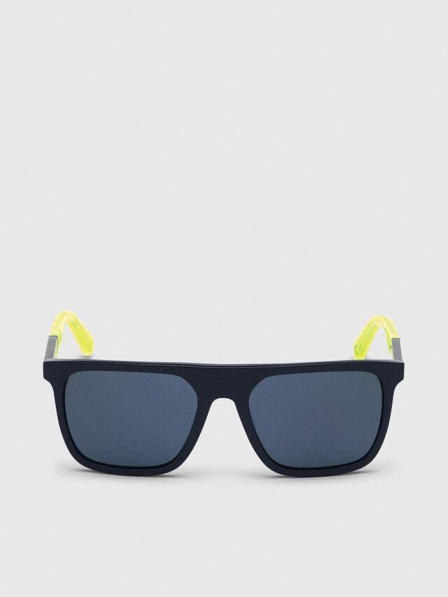 Diesel - DL0299-F, Blue/Yellow - Sunglasses - Image 1