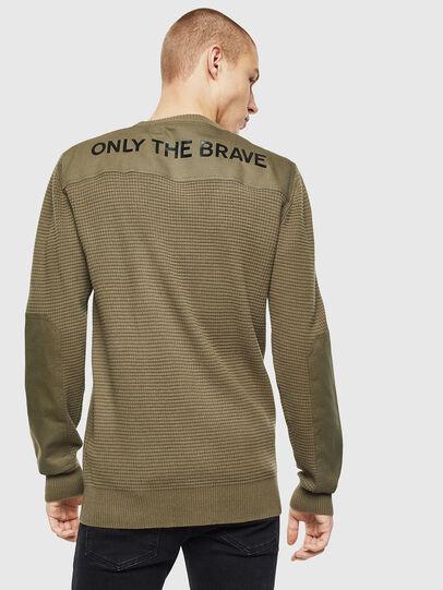 Diesel - K-LESTER, Military Green - Knitwear - Image 2