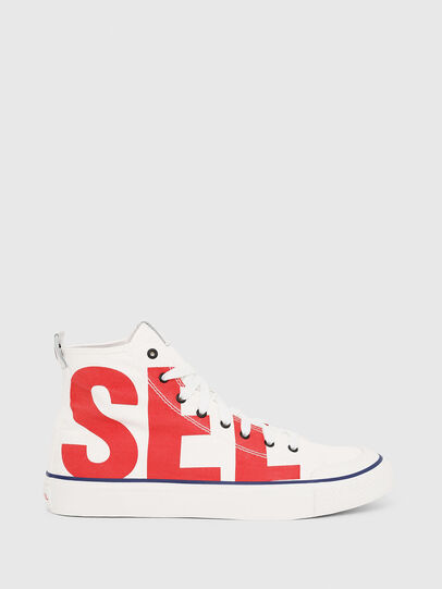 Diesel - S-ASTICO MC, White/Red - Sneakers - Image 1