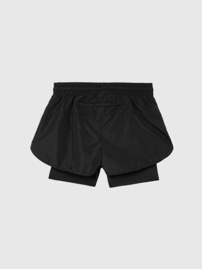 Diesel - UFLB-FAUSTIN-HIGH, Black - Pants - Image 2