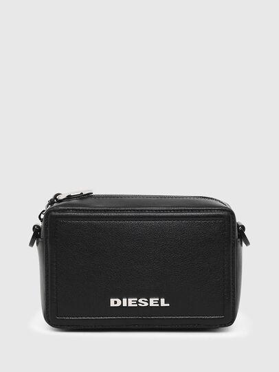 Diesel - ROSA' ML, Black - Crossbody Bags - Image 1