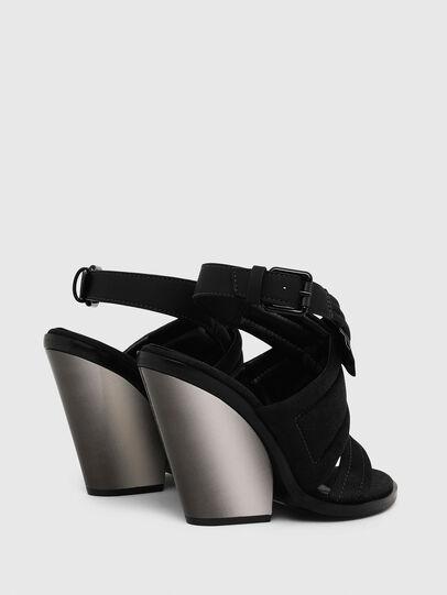 Diesel - SA-FLAMINGO XR, Black - Sandals - Image 3