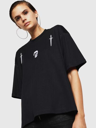 Diesel - TELIX-A, Black - T-Shirts - Image 1