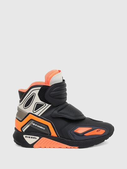 Diesel - ASTARS-SKBOOT, Black/Orange - Sneakers - Image 1