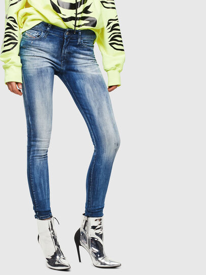 Diesel - Slandy 0095C, Medium blue - Jeans - Image 1