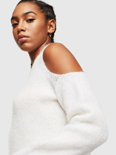 Diesel - M-LARA, White - Knitwear - Image 3