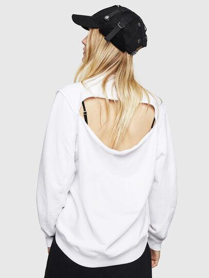 Diesel - F-LYANYDY-B, White - Sweaters - Image 2