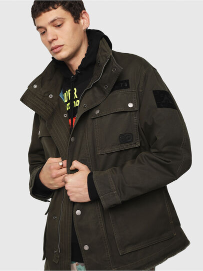 Diesel - J-TOUCHA,  - Jackets - Image 6