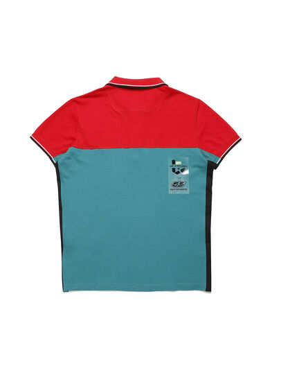 Diesel - D-IHATEPOLOS, Green/Red - Polos - Image 2