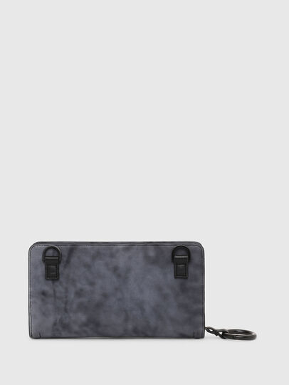 Diesel - GRANATINO, Blue - Zip-Round Wallets - Image 2
