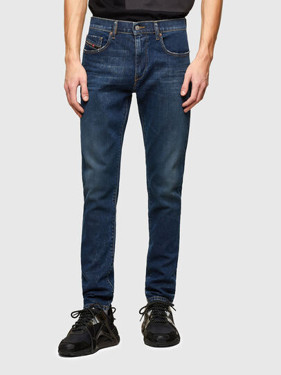 Diesel - D-Strukt 009NV, Dark Blue - Jeans - Image 1