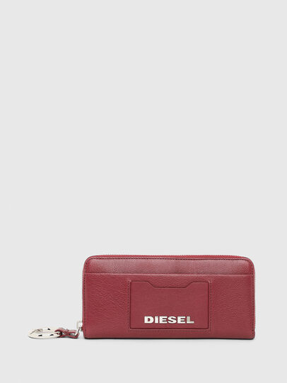Diesel - ALLIUM, Bordeaux - Zip-Round Wallets - Image 1
