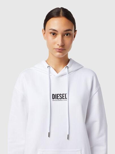 Diesel - D-ILSE-ECOSMALLOGO, White - Dresses - Image 3