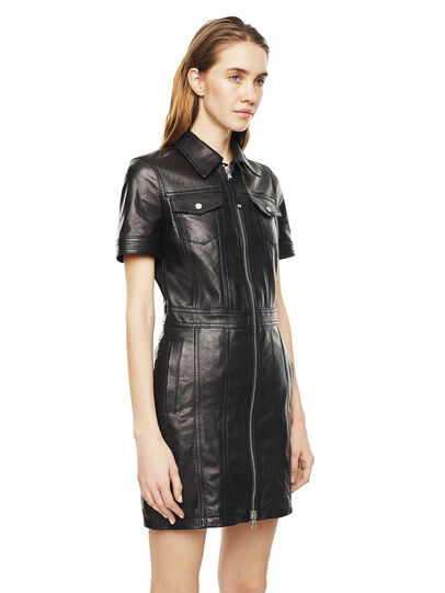 Diesel - DAFFIE,  - Leather dresses - Image 5