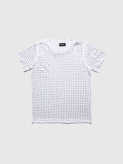Diesel - TJRATY, White - T-shirts and Tops - Image 1