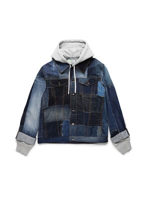 D-OWNHILL55, Medium blue - Denim Jackets