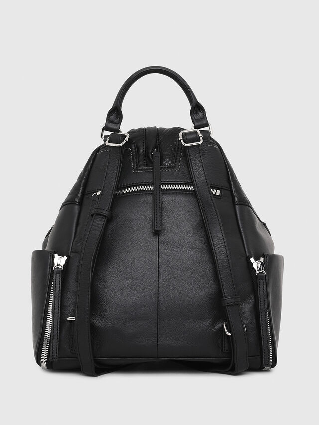 Diesel LE-MHONIC, Black - Backpacks - Image 2