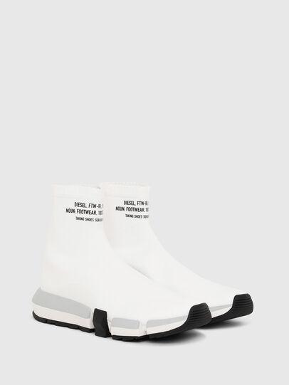 Diesel - H-PADOLA HIGH SOCK W, White - Sneakers - Image 2