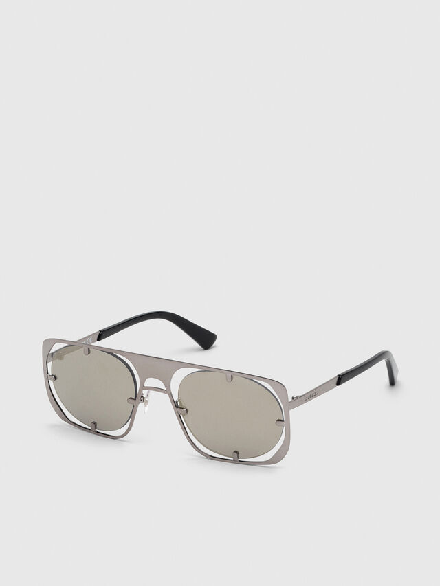 Diesel - DL0305, Gray/Black - Sunglasses - Image 2