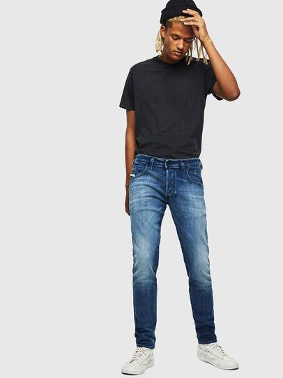 Diesel - D-Bazer 0097Y, Medium blue - Jeans - Image 5