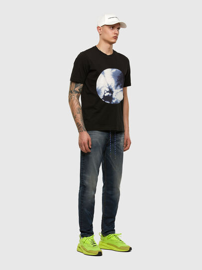 Diesel - D-Vider JoggJeans 069NT, Dark Blue - Jeans - Image 5