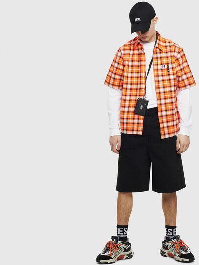 Diesel - S-ATWOOD-A, Orange - Shirts - Image 5