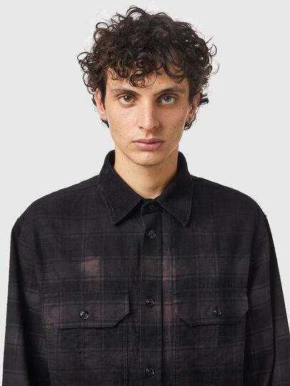 Diesel - S-JESS-DIP, Black/Violet - Shirts - Image 3