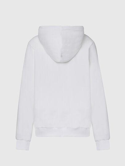 Diesel - F-ANG-HOOD-CUTY, White - Sweaters - Image 2