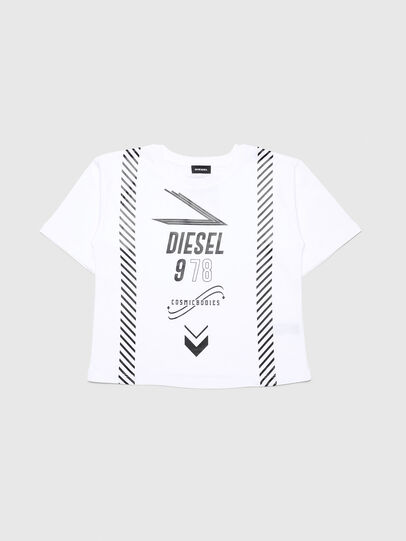 Diesel - TJTITA, White - T-shirts and Tops - Image 1