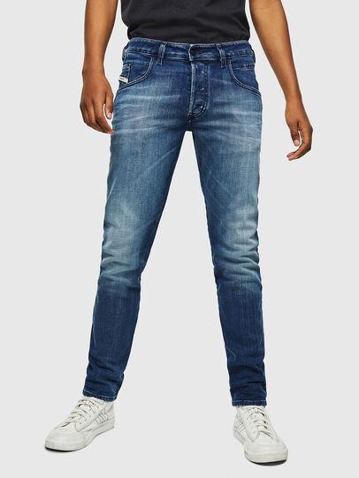 Diesel - D-Bazer 0097Y, Medium blue - Jeans - Image 1