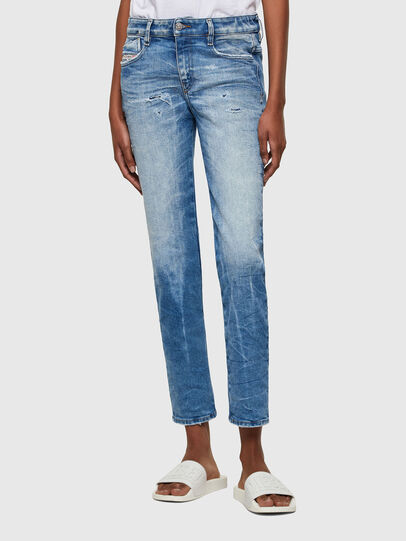 Diesel - D-Rifty 009MV, Light Blue - Jeans - Image 1